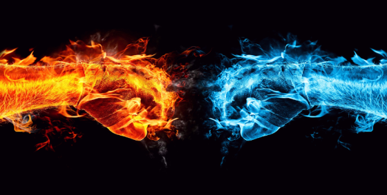 Fire and Water by Felicia Wert