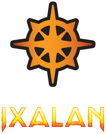Ixalan Set Symbol and Text
