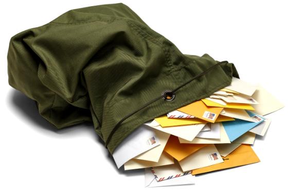 Mailbag Stock Photo