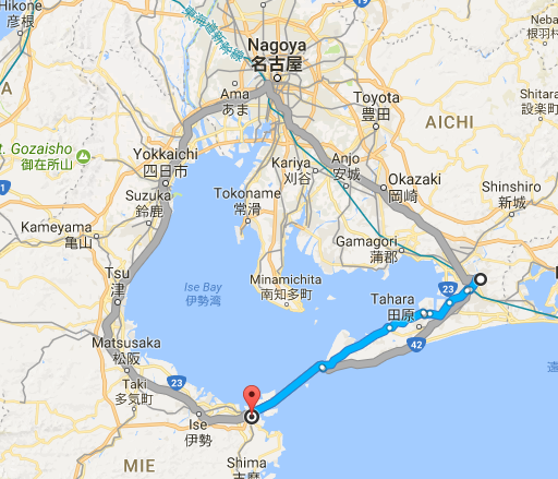 Toyohashi to Toba
